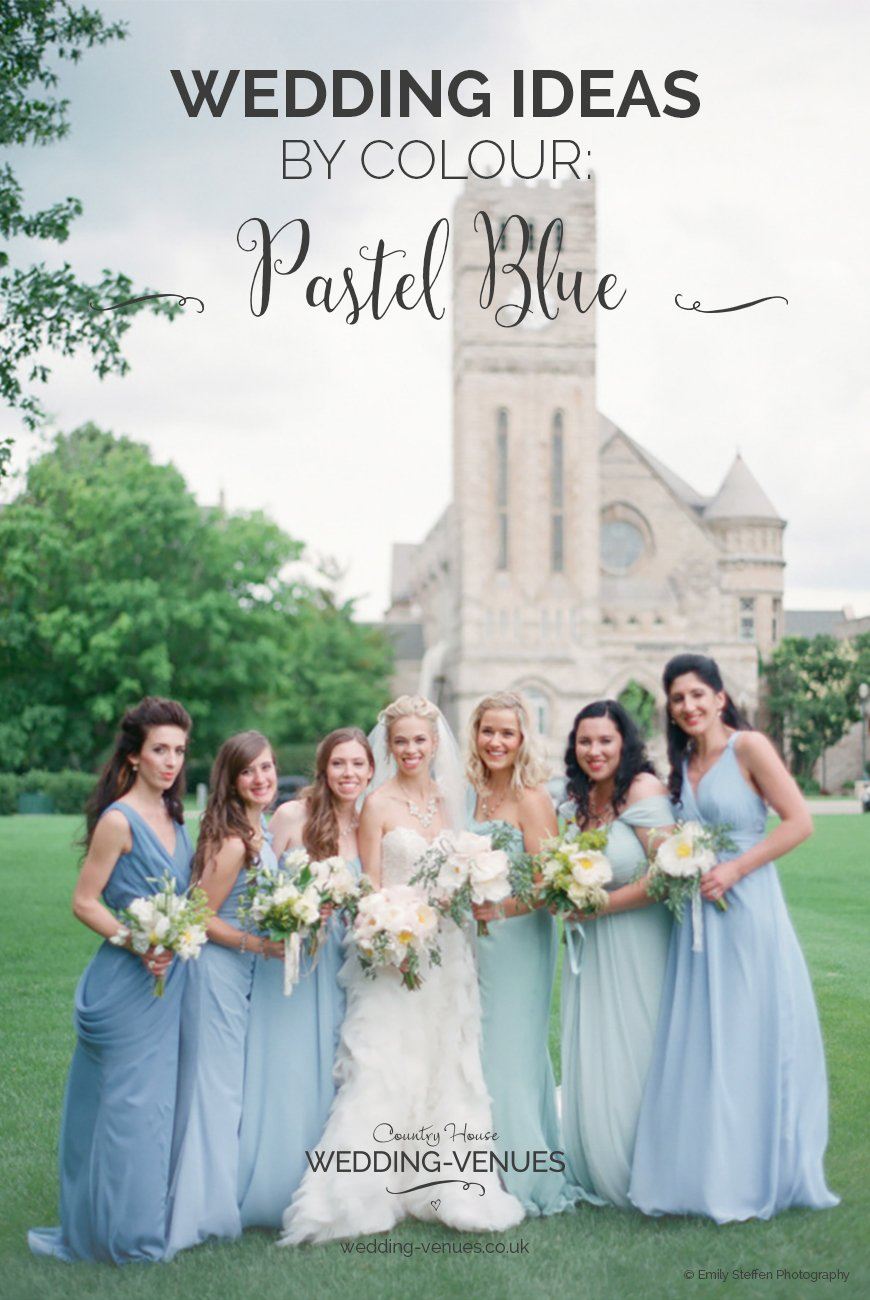 Pastel Blue Wedding Theme | Wedding Ideas By Colour | CHWV