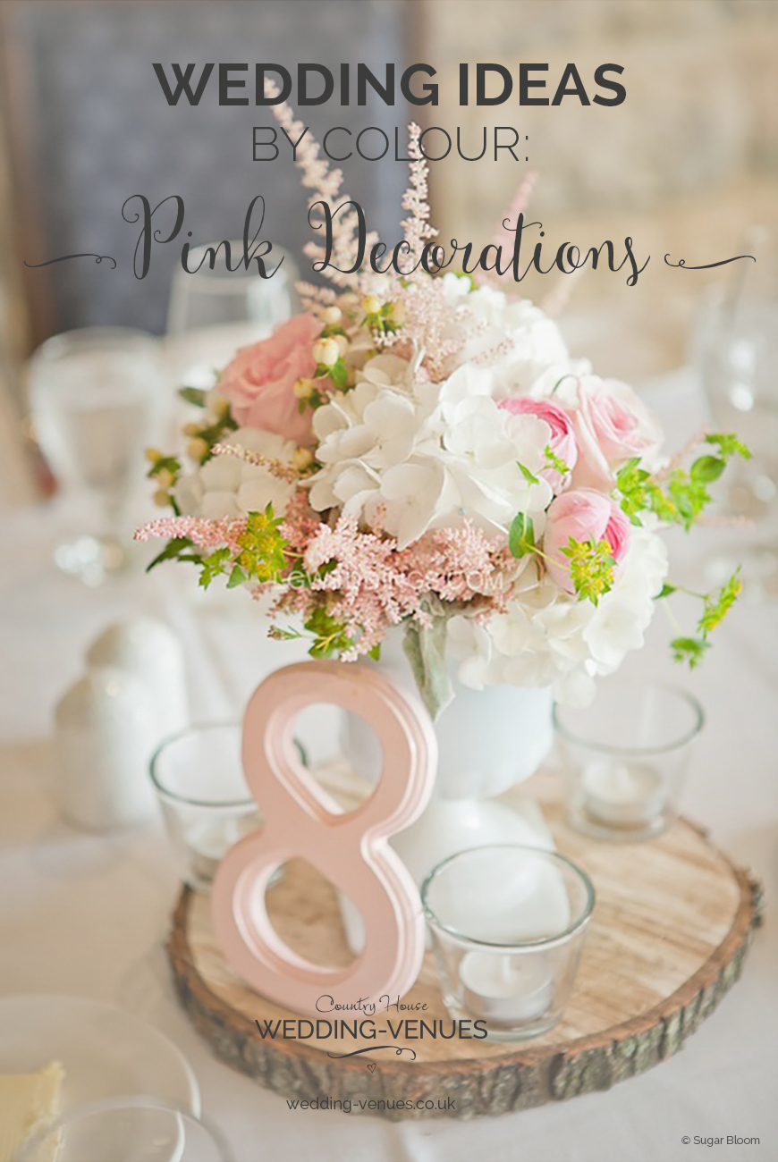 Pink wedding decorations wedding ideas by colour chwv wedding ideas by colour pink wedding decorations chwv junglespirit Images