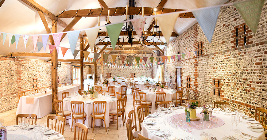 20 Incredible Barn Venues for the Perfect Summer Wedding - Upwaltham Barns | CHWV