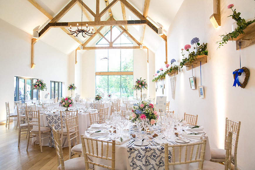 20 Incredible Barn Venues for the Perfect Summer Wedding - Millbridge Court | CHWV