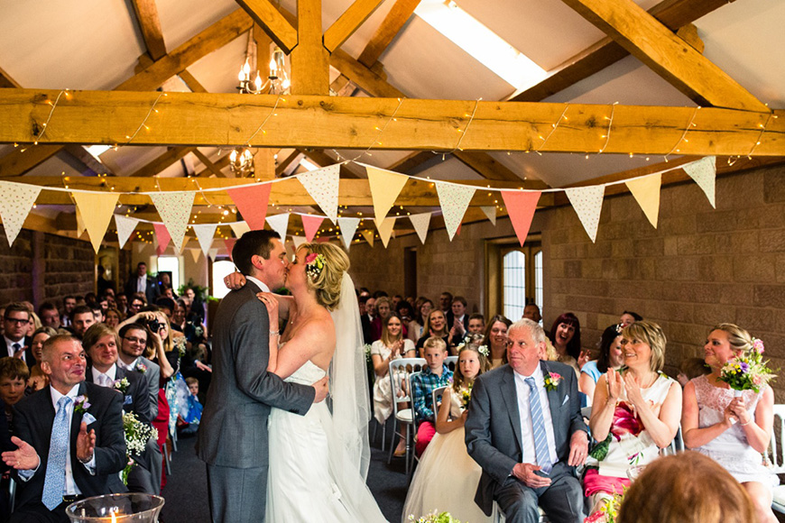 20 Incredible Barn Venues for the Perfect Summer Wedding - Heaton House | CHWV