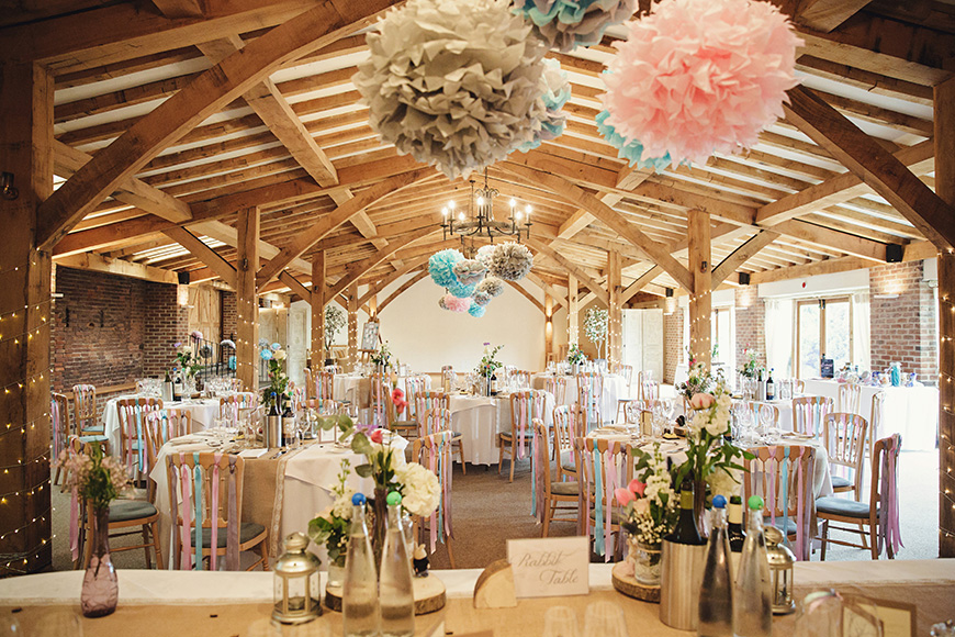 20 Incredible Barn Venues for the Perfect Summer Wedding - Packington Moor | CHWV