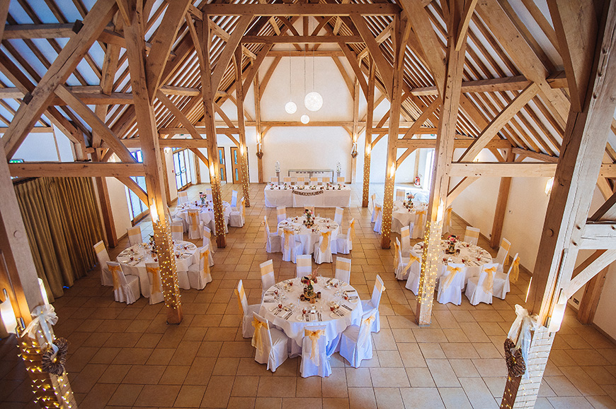 20 Incredible Barn Venues for the Perfect Summer Wedding - Rivervale Barn | CHWV