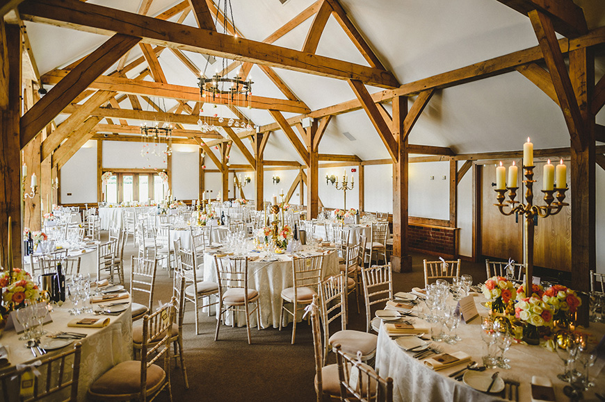20 Incredible Barn Venues for the Perfect Summer Wedding - Sandhole Oak Barns | CHWV