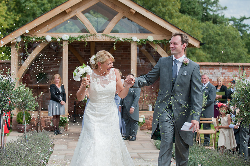 20 Incredible Barn Venues for the Perfect Summer Wedding - Upton Barn and Walled Garden | CHWV