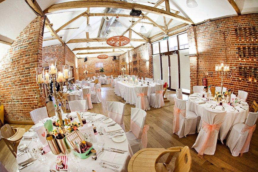 20 Incredible Barn Venues for the Perfect Summer Wedding - Wasing Park | CHWV