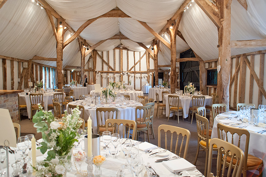 20 Incredible Barn Venues for the Perfect Summer Wedding - South Farm | CHWV