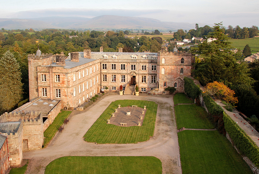 13 Incredible Castle Wedding Venues - Appleby Castle | CHWV