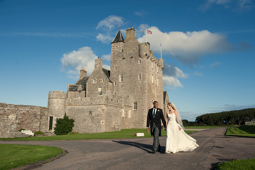 13 Incredible Castle Wedding Venues - Ackergill Tower | CHWV