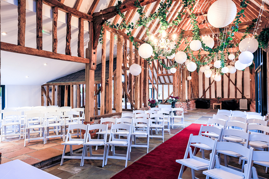 10 Incredible Country-Chic Wedding Venues - High House Weddings | CHWV