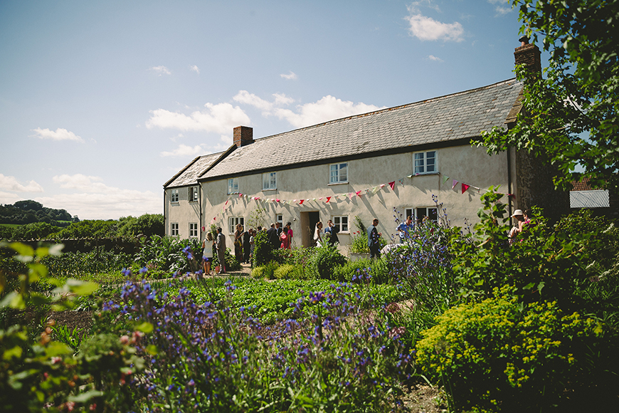 10 Incredible Country-Chic Wedding Venues - River Cottage | CHWV