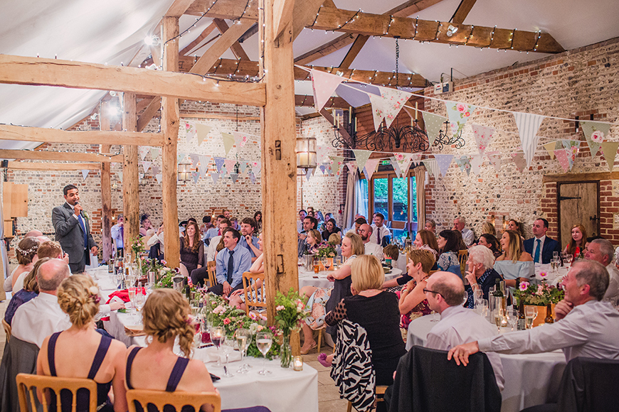 10 Incredible Country-Chic Wedding Venues - Upwaltham Barns | CHWV