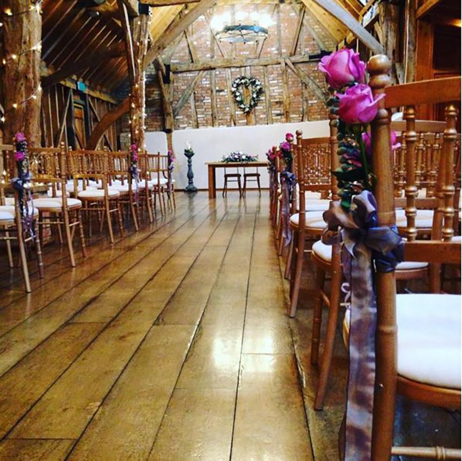 Instagrammable wedding venue interiors