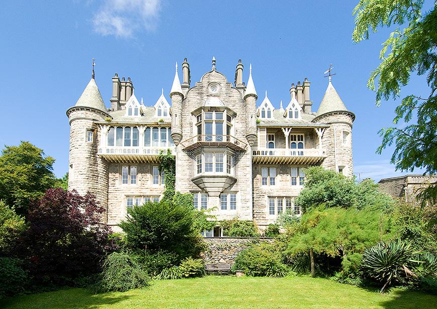 Our Favourite Intimate Wedding Venues in Wales - Château Rhianfa   CHWV