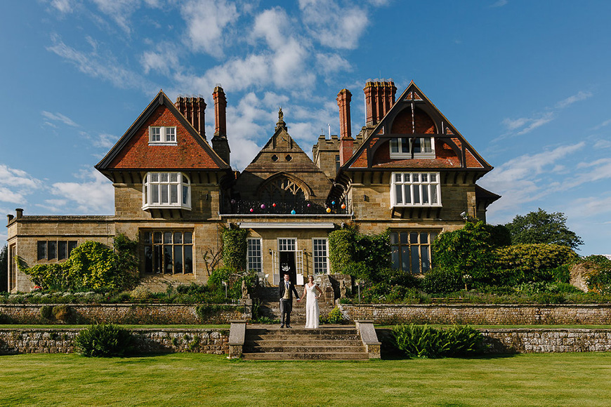 9 Intimate Wedding Venues in West Sussex - Cowdray House | CHWV