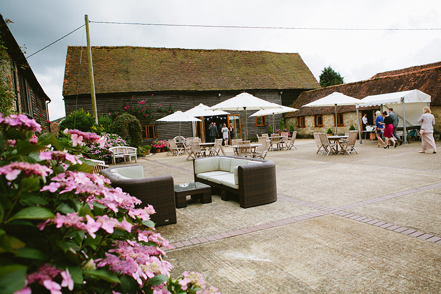 9 Intimate Wedding Venues in West Sussex - Fitzleroi Barn | CHWV