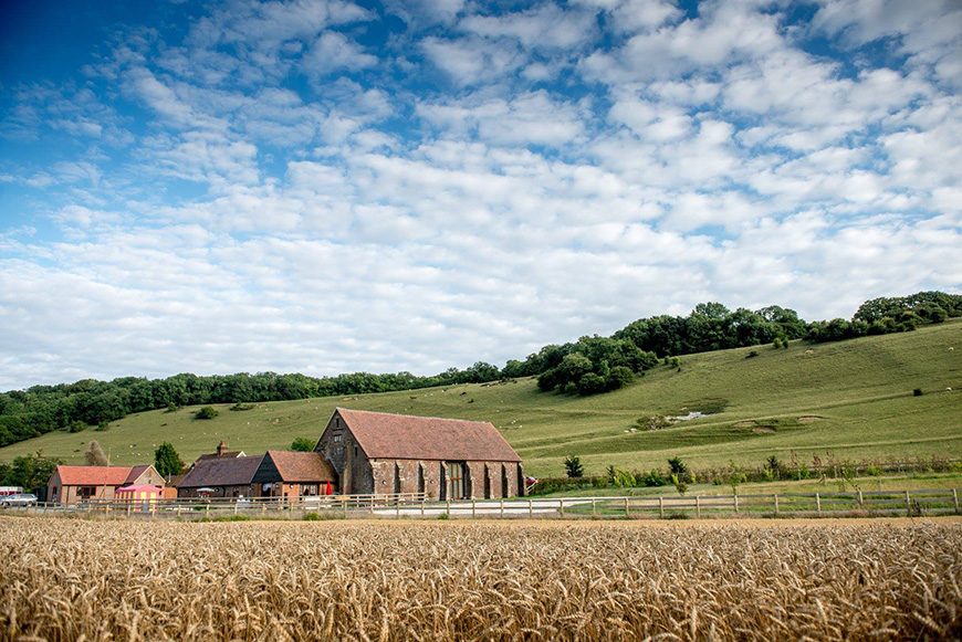 9 Intimate Wedding Venues in West Sussex - Long Furlong Barn | CHWV