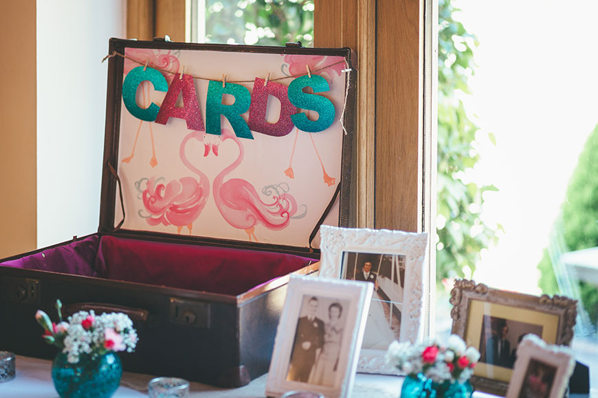 Isobel and Russ Rivervale Barn - Card box | CHWV