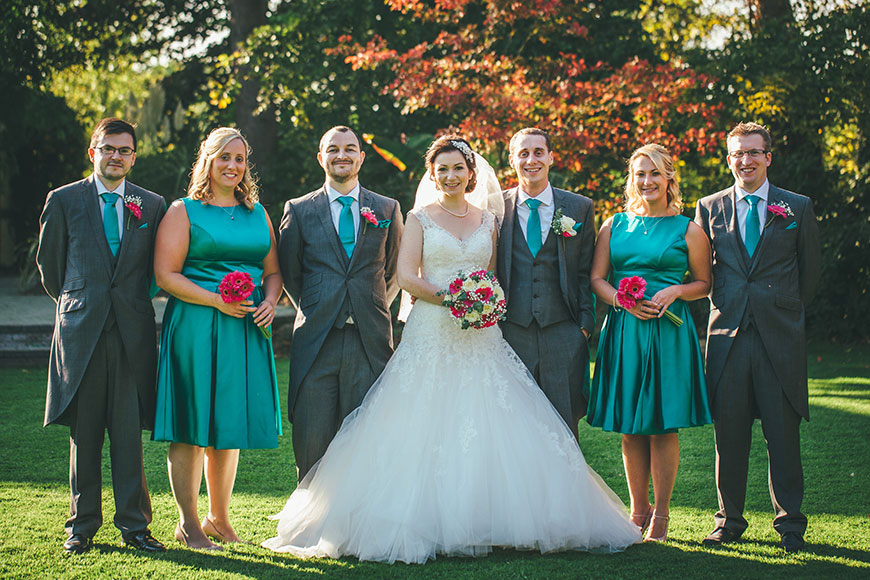 Isobel and Russ Rivervale Barn - Bridal party | CHWV