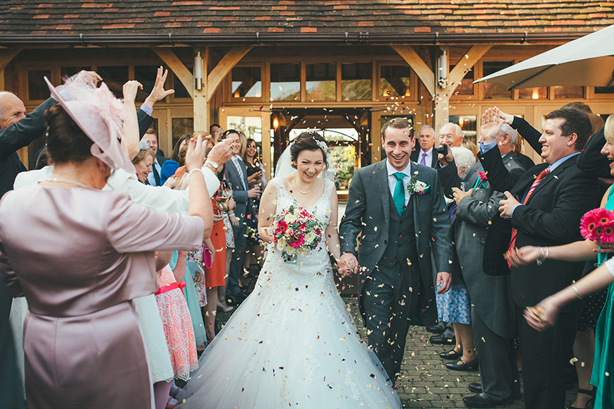 Isobel and Russ Rivervale Barn - Confetti | CHWV