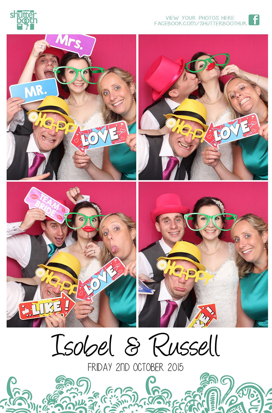 Isobel and Russ Rivervale Barn - Photobooth | CHWV