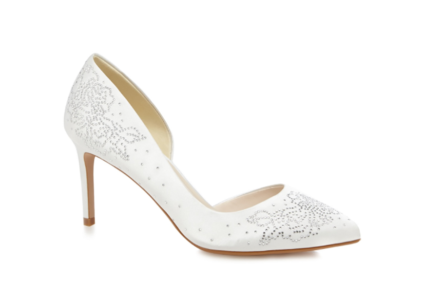 Jaw-Dropping Wedding Shoes To Suit Every Budget - Debenhams Jenny Packham | CHWV
