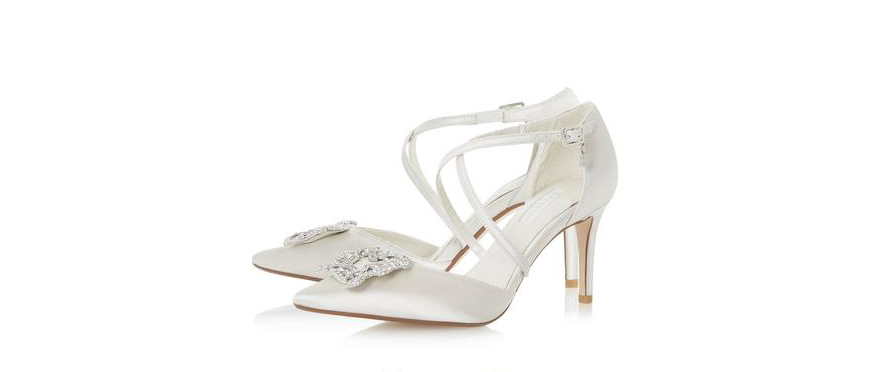 Jaw-Dropping Wedding Shoes To Suit Every Budget - Dune | CHWV