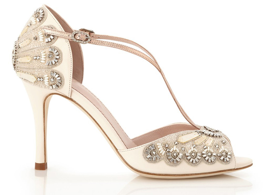 Jaw-Dropping Wedding Shoes To Suit Every Budget - Emmy London Francesca | CHWV