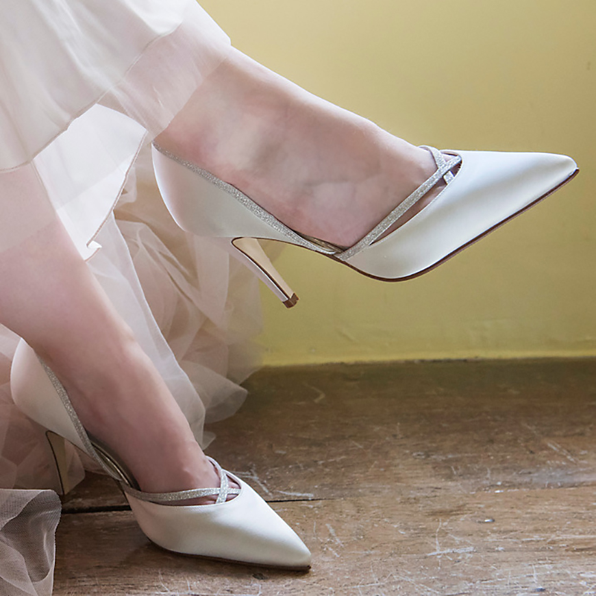 Jaw-Dropping Wedding Shoes To Suit Every Budget - John Lewis Rainbow Club | CHWV