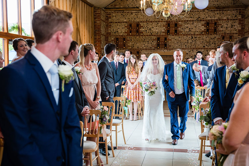 Keeping those Wedding Worries at Bay - What if I trip down the aisle? | CHWV