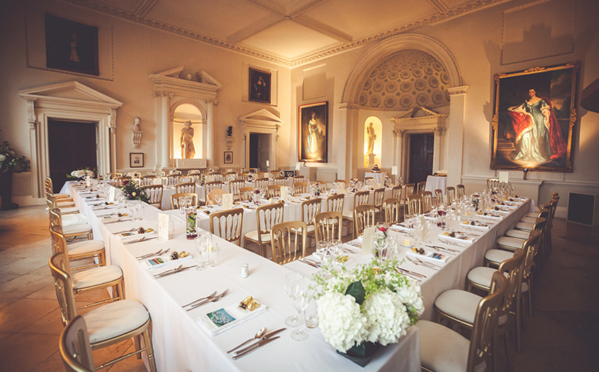 The Best Country House Wedding Venues For An Autumn Wedding - Kirtlington Park | CHWV