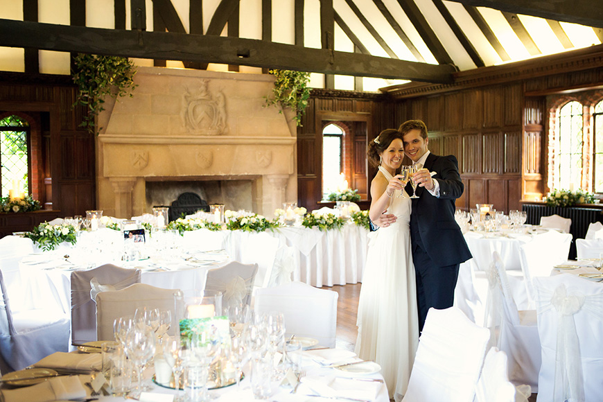 9 Glamorous And Grand Wedding Venues That You Have To See - Leez Priory | CHWV