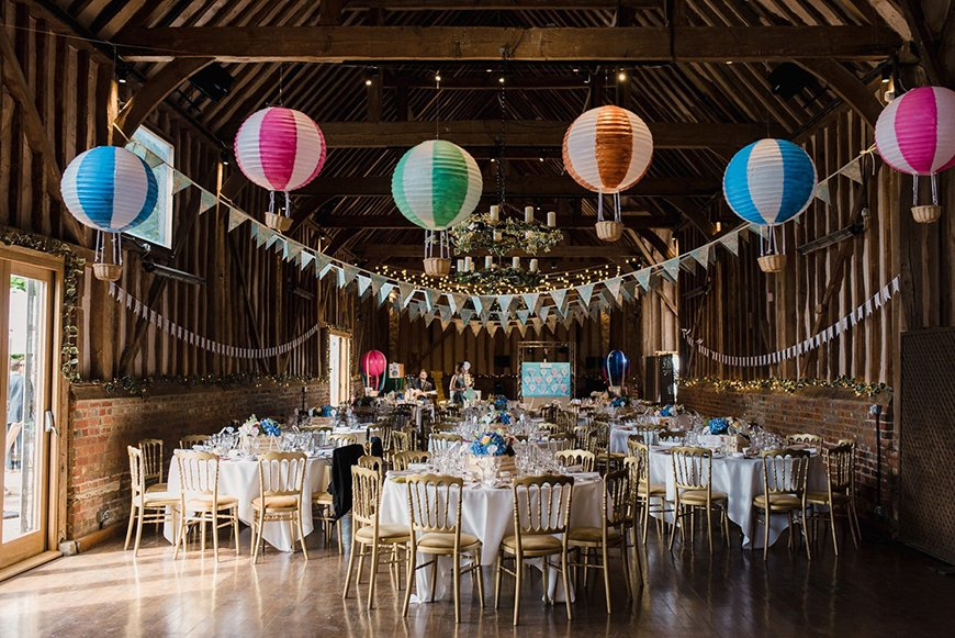 Perfect Wedding Venues For A Spring Wedding - Lillibrooke Manor and Barns | CHWV