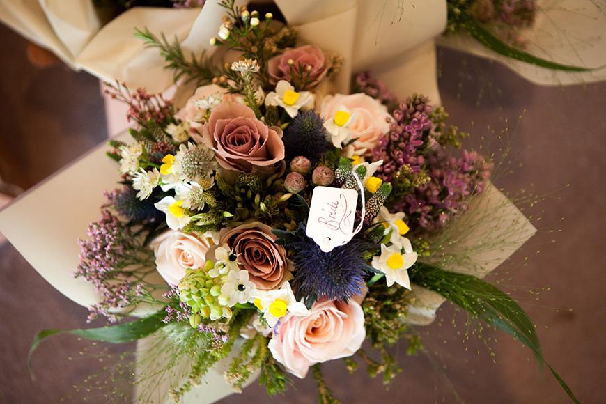 Pretty Pink and Purple Barn Wedding Ideas - Bouquet   CHWV
