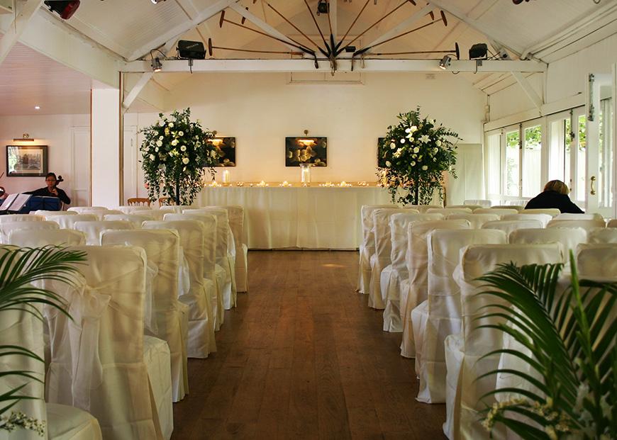 7 Lush London Wedding Venues - Ham Polo Club | CHWV