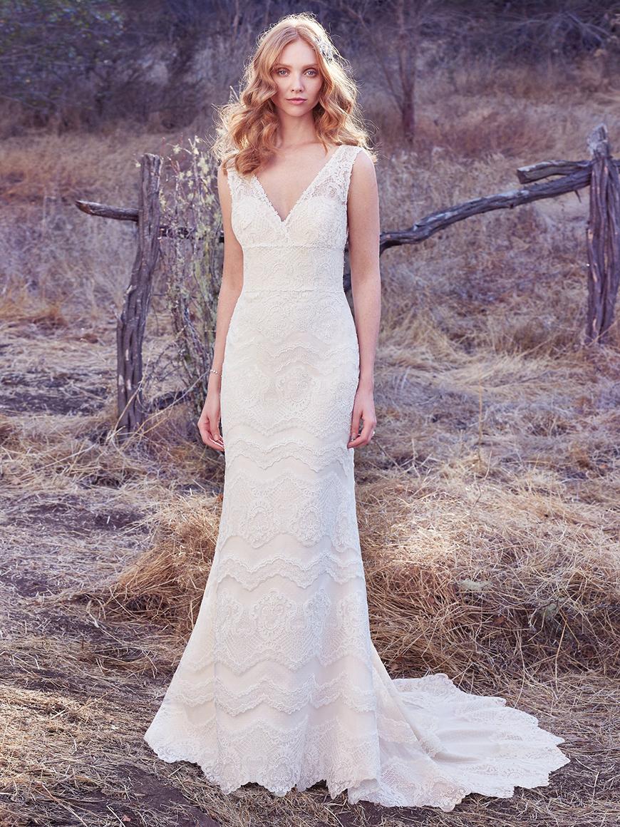A Closer Look At Maggie Sottero Wedding Dresses - Brynn | CHWV