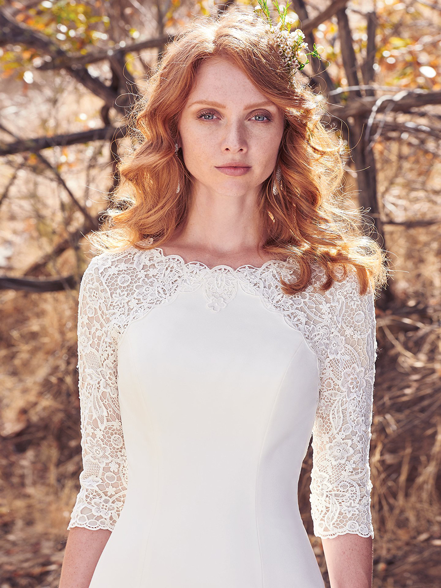 A Closer Look At Maggie Sottero Wedding Dresses - Cora | CHWV