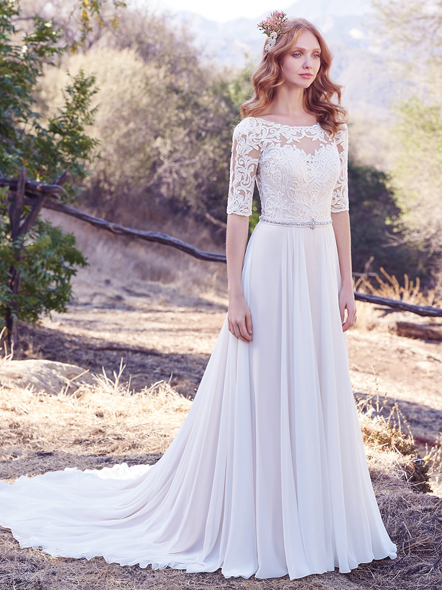 A Closer Look At Maggie Sottero Wedding Dresses Chwv