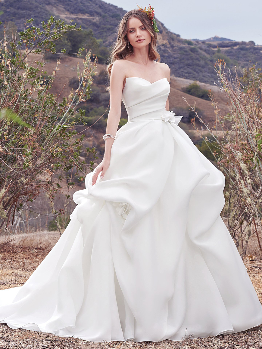 A Closer Look At Maggie Sottero Wedding Dresses - Meredith | CHWV