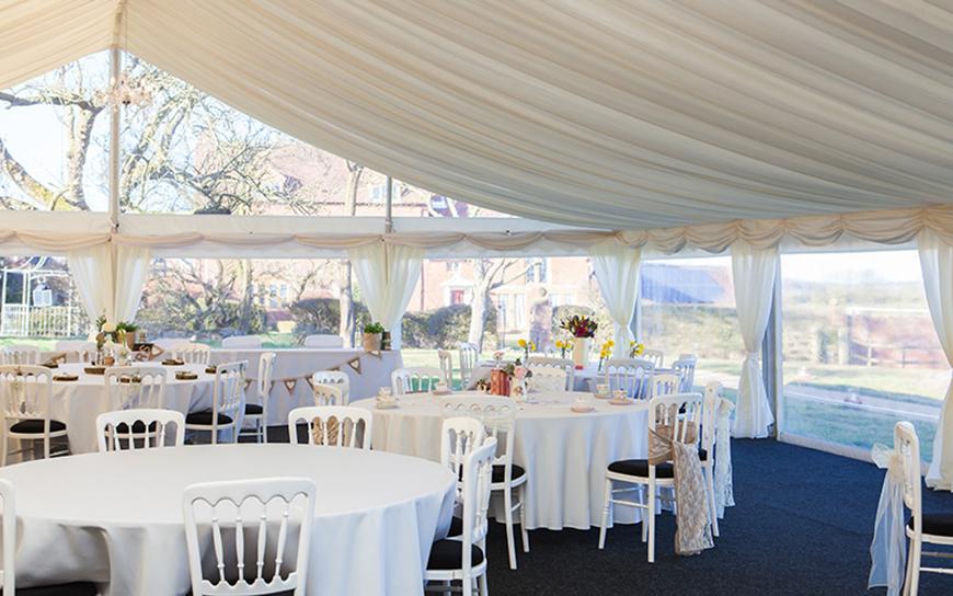 11 Magnificent Marquee Wedding Venues - Bordesley Park | CHWV