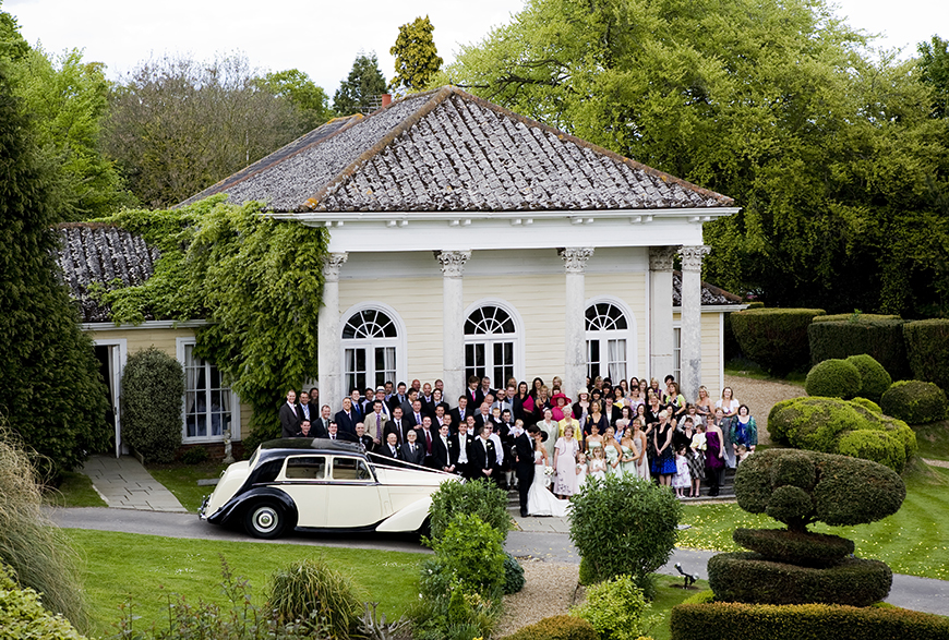 11 Magnificent Marquee Wedding Venues - Fontwell Park | CHWV