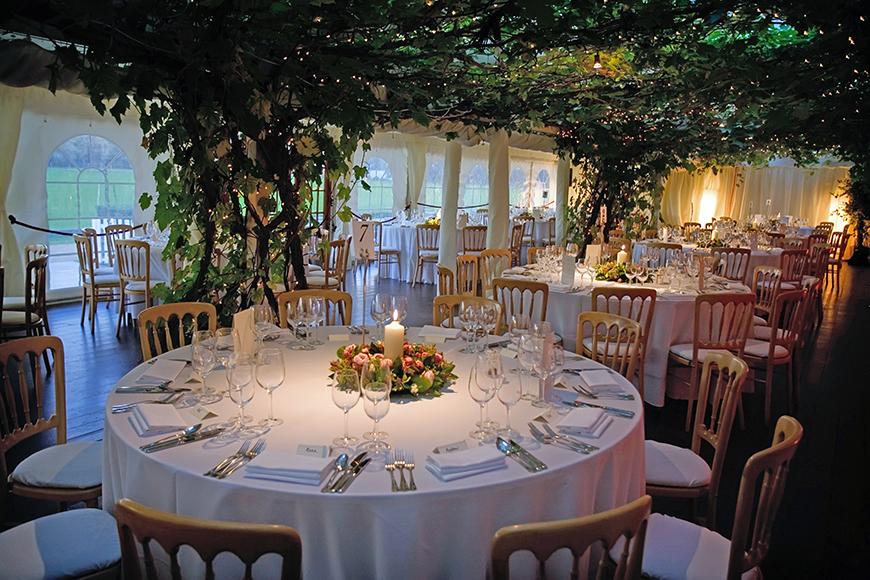 11 Magnificent Marquee Wedding Venues - Ham Polo Club | CHWV