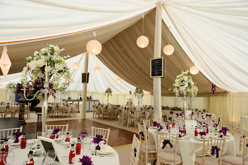 11 Magnificent Marquee Wedding Venues - Mapperton | CHWV