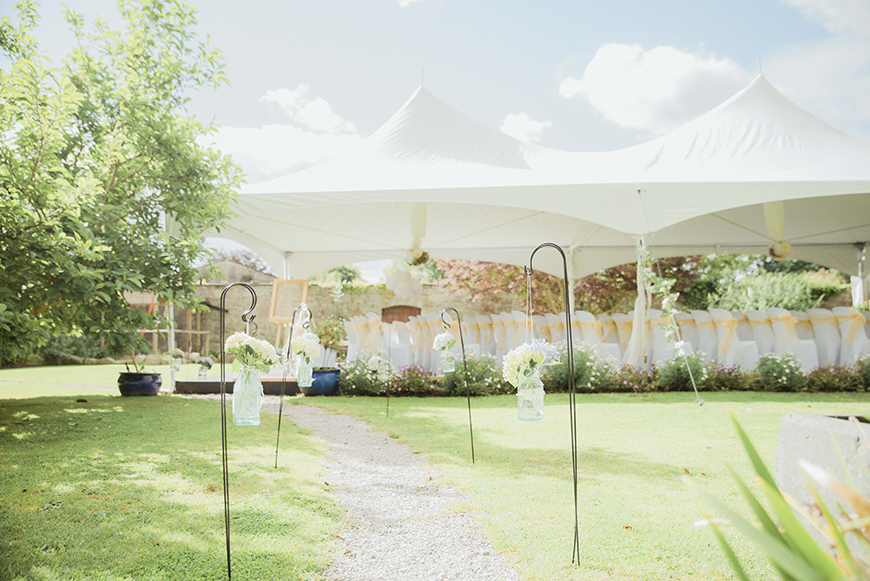 11 Magnificent Marquee Wedding Venues - Pentre Mawr Country House | CHWV