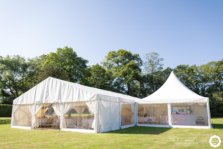 11 Magnificent Marquee Wedding Venues - Shooters Hill Hall | CHWV