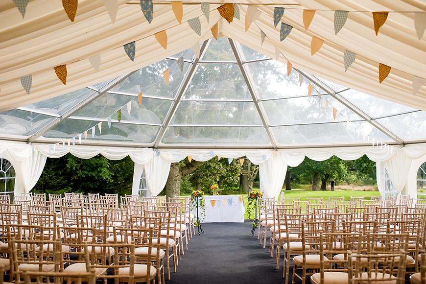 11 Magnificent Marquee Wedding Venues - Tournerbury Woods Estate | CHWV