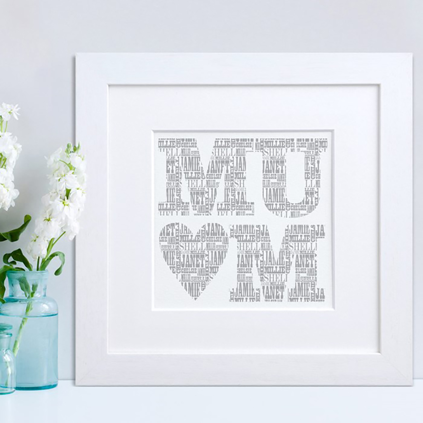 Mother Of Groom Wedding Gift Ideas : Artwork always makes a great gift, especially when its a heartfelt ...