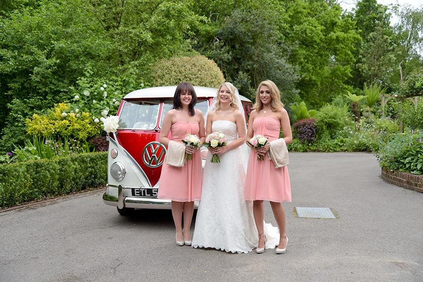 Claudia and Mark's real life wedding at Bartholomew Barn - Dresses | CHWV