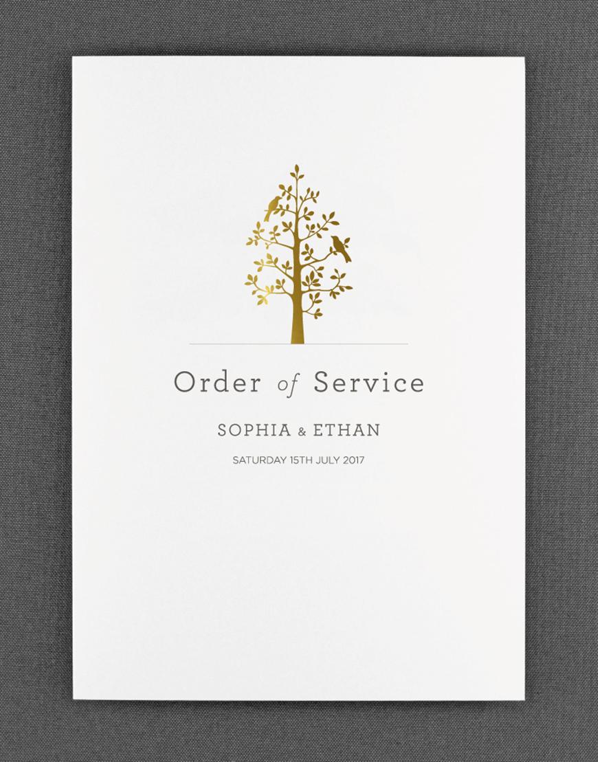 Wedding Ideas By Colour: Metallic Wedding Stationery - Saying 'I do' | CHWV