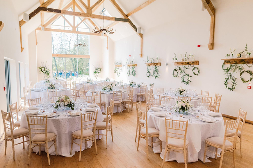 Perfect Wedding Venues For A Spring Wedding - Millbridge Court | CHWV
